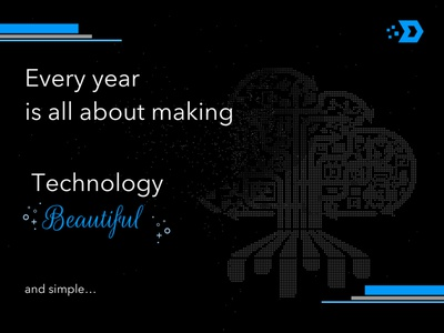 Dribble Weekly Warmup - New Year Resolution resolutions startups startup tech logo technology new year 2020 new year typography art typographic typogaphy dribbleweeklywarmup vector ux dribble branding ui dark creative rmgx design