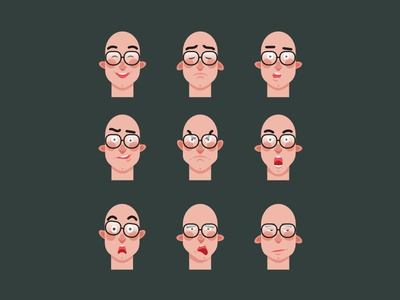 Faces variations
