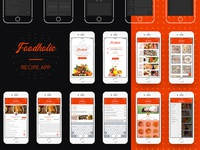 Foodholic recipe app