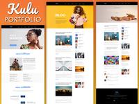 Kulu Portfolio - One Page PSD Template