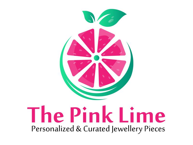 The Pink Lime Logo lemon logo lemon lime pink designer branddesign brand logo design logodesign logotype logos color typography branding illustration vector logo design dribbble
