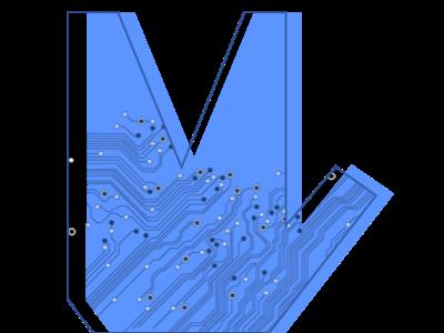 Tech Mindmeld Logo developertown branding logo software design tech logo