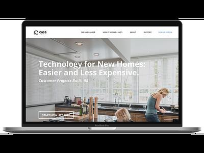 Responsive Web Design for Casa Integration responsive website design responsive website responsive web design responsive design design ui  ux mobile design web design