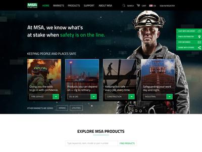 MSA Product Page