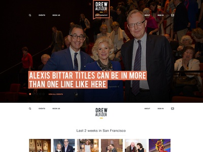 Drew Altizer Photography Homepage