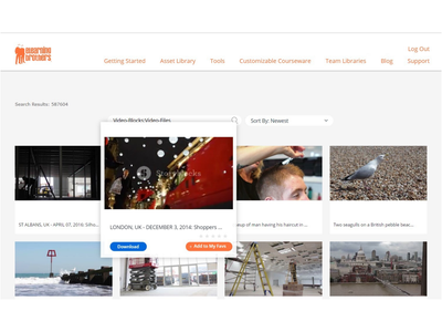 eLearningBrothers Homepage design ui  ux web development web design