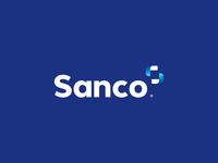 Sanco Brand Blue