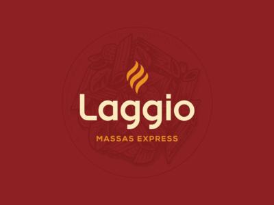 Laggio Identity restaurant pasta brand identity branding design