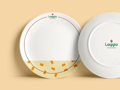 Laggio Dishes dishes pasta restaurant brand branding identity design