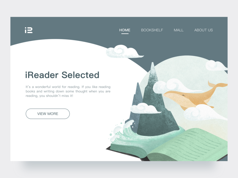 Web-homepage illustration homepage web