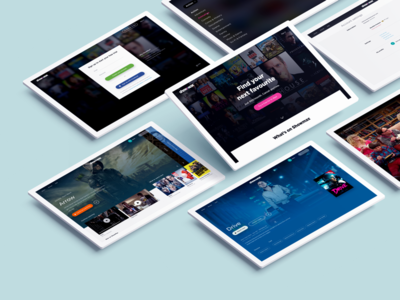 Showmax - A new way of binging ux onboarding web digital vod e-commerce