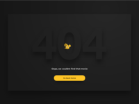 404: Movie not found - Pathé Thuis error page