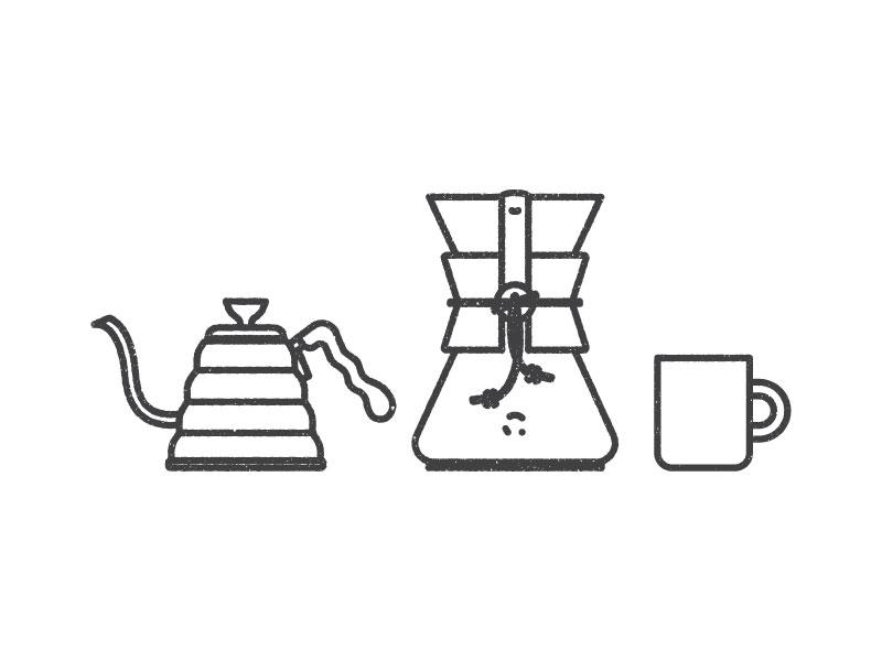 Ritual vector design art portfolio website texture illustration mug ritual hario coffee chemex
