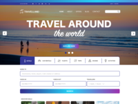 Travelland Landing Page Concept