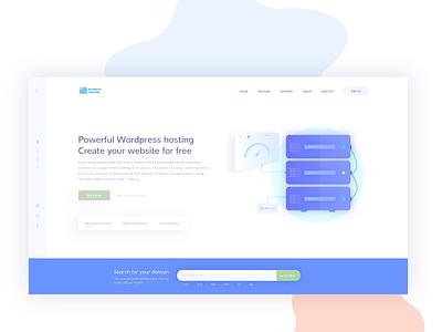 Web Hosting Home Page cloud wordpress hoting company domain web servers hosting