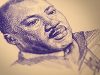 Martin Luther King Ogabel Sketch Dribbble