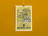 Brewing Arts Festival Poster Design