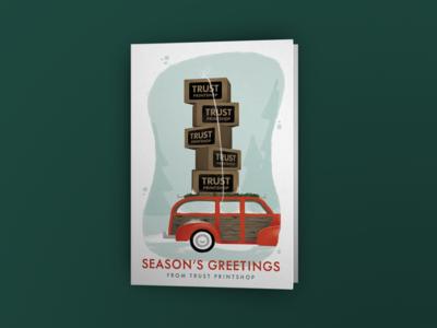 Trust Christmas Card