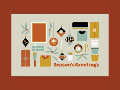 Unused Christmas Card Design