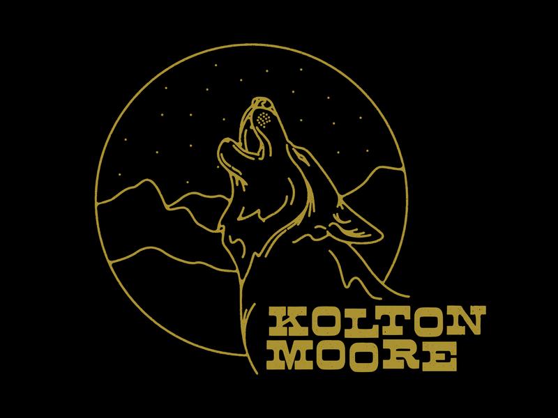 Kolton Moore fort worth texture western mountains wolf kolton moore icon vector trust printshop tshirt design type design apparel design typography illustration illustrator
