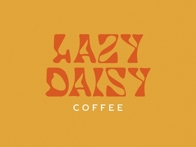 Lazy Daisy Lettering Concept