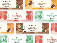 Ice Cream Pint Labels | Summer Friday Campaign