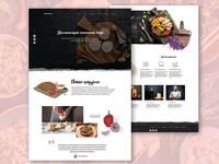 Georgian Restaurant web page