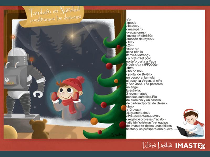 Christmas Card by Susana Diaz - Dribbble