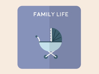 Family flat vectorial home family illustration design icons icon