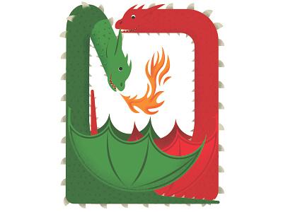 Remembering Daenerys' dragons dragons photoshop cesar contreras illustration