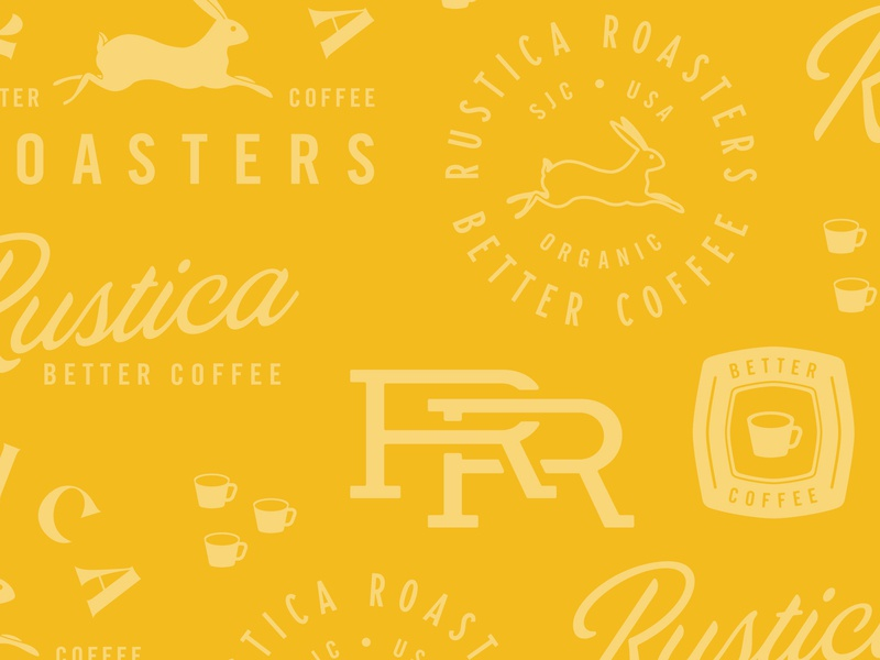 New brand work for Rustica Roasters