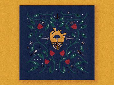 Heart Of Gold - Neil Young procreate design cesar contreras