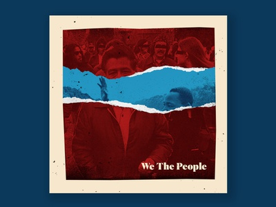 We The People - A Tribe Called Quest photoshop illustrator design cesar contreras
