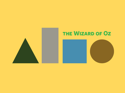 BSDS Minimal Poster - The Wizard of Oz oz wizardofoz thewizardofoz minimal bookposter movieposter moviedesign movie challenge bsds