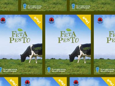 Feta Pesto Poster