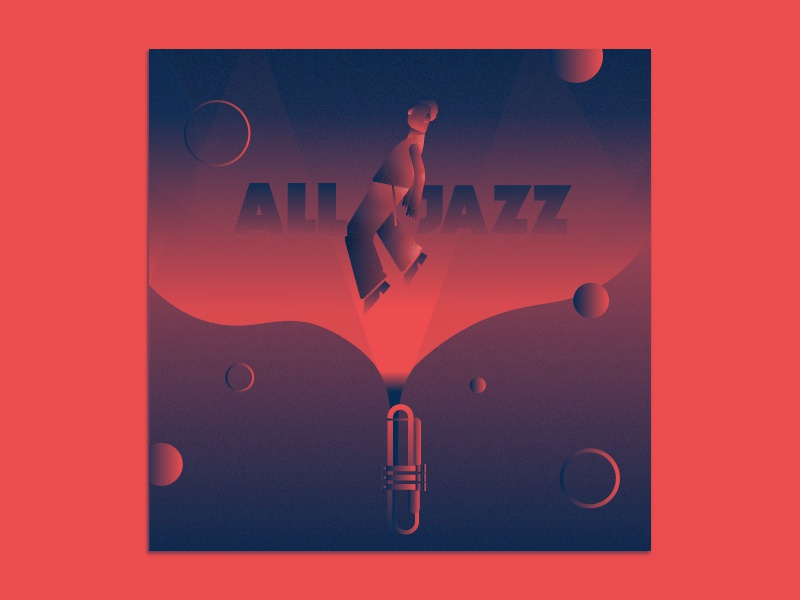 All Jazz miles davis jazz music trumpet artwork cover cover artwork spotify ilustration flat design vector ilustrator