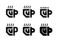 The People's Cup Logo Sketches