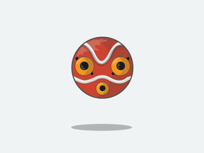 8/100 Princess Mononoke's Mask