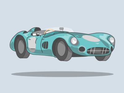 11/100 Aston Martin Dbr1 1956