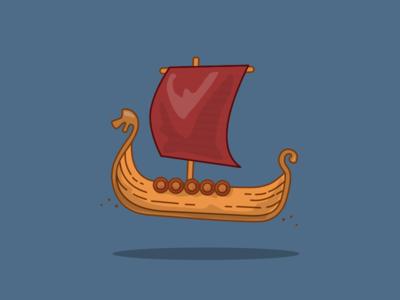 15/100 Viking Ship