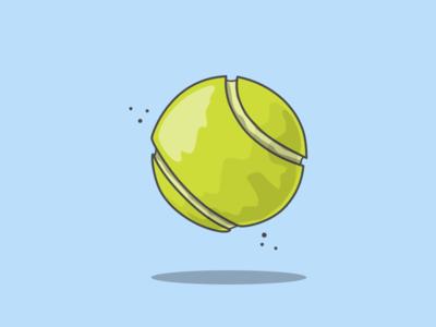 16/100 US Open Tennis Ball