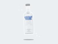 25/100 Absolut Vodka
