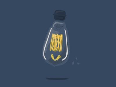 26/100 Edison Bulb
