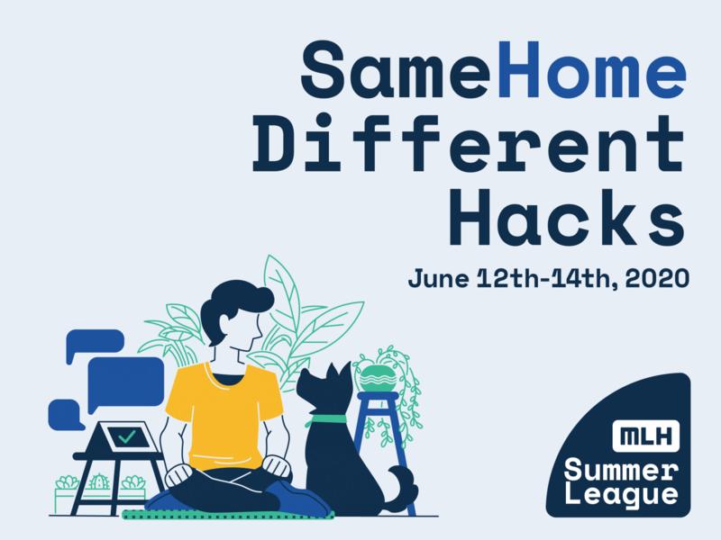 same home different hacks succulent plant smarthome home human dog design event branding adobe illustrator graphic  design illustration
