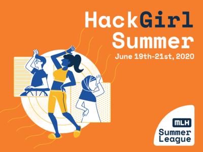 hack girl summer wheelchair human girls adobe illustrator graphic  design illustration