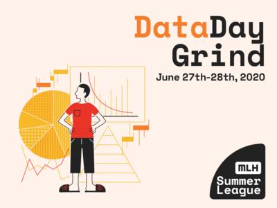 data day grind chart data adobe illustrator graphic  design illustration