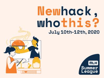 New Hack Who This sourdough bread human event branding adobe illustrator graphic  design illustration