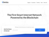 Gatsby website design