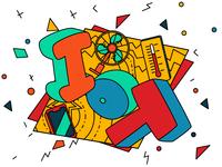 Sticker designs: IoT