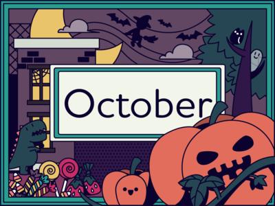 halloween graphic  design adobe illustrator illustration october witch candy pumpkin spooky halloween